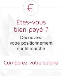 Comparez votre salaire et vos avantages