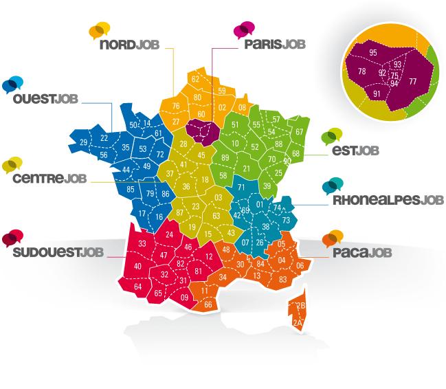 carte couverture géographique