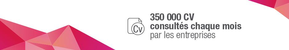 CVthèque RegionsJob : une CV thèque pour accéder à des profils exclusifs de candidats en veille ou en recherche active en régions et en Ile-de-France. La base CV la plus actualisée à disposition des recruteurs.